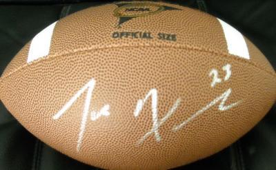 Joe Haden autographed Wilson NCAA football