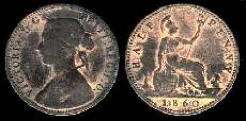 Half Penny 1860-1874 (km 748.1)