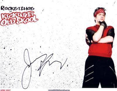 Jamie Kennedy autographed Kickin' It Old Skool 8x10 photo
