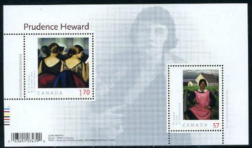 Art, Prudence Heward paintings s/s