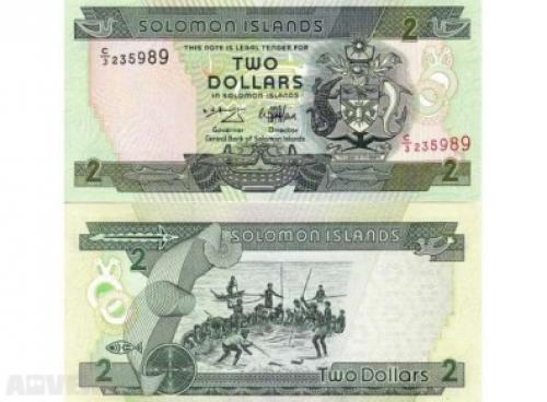 Solomon Islands 2 dollars