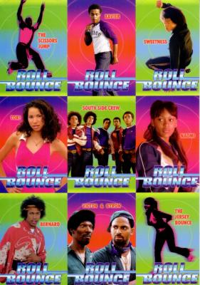 Roll Bounce 2005 Sports Illustrated for Kids promo card set