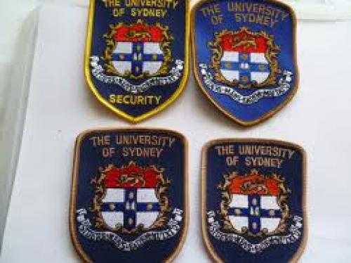 Patches; AUSTRALIA university of sydney security patches x 4 diff larger image