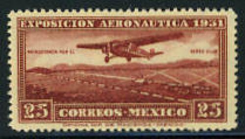 Aviation exposition 1v; Year: 1931