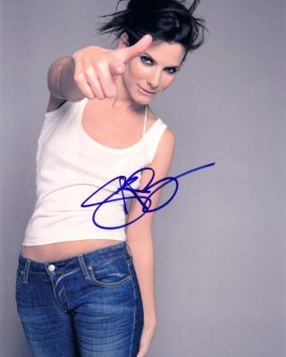 Sandra Bullock autographed 8x10 photo