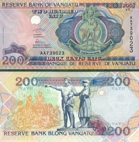 Vanuatu - 200 Vatu
