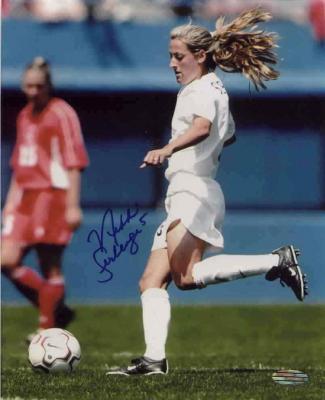 Nikki Serlenga autographed U.S. National Team 8x10 photo (Steiner)