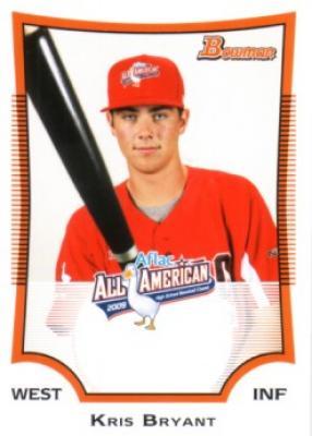 Kris Bryant 2009 AFLAC Bowman Rookie Card