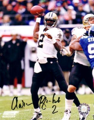 Aaron Brooks autographed 8x10 New Orleans Saints photo