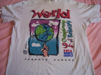 1994 World Basketball Championship (Dream Team 2) T-shirt size M