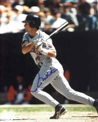 Paul Molitor autographed Minnesota Twins 8x10 photo