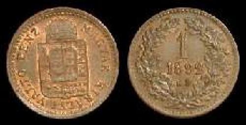 1 krajczar 1891-1892 (km 478)