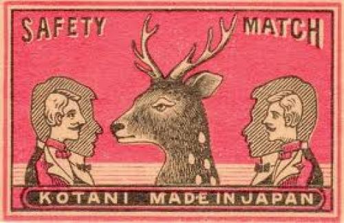 Matchboxes; Made in Kotani Japan; Vintage