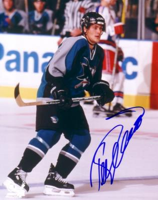 Teemu Selanne autographed 8x10 San Jose Sharks photo