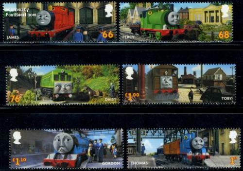 Thomas the tank engine 6v