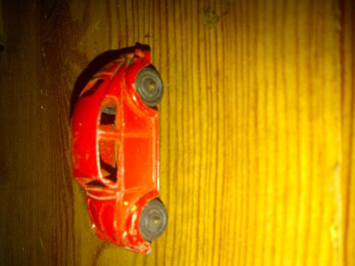Vtg. Tootsie Toy Car VW Bug 1970's