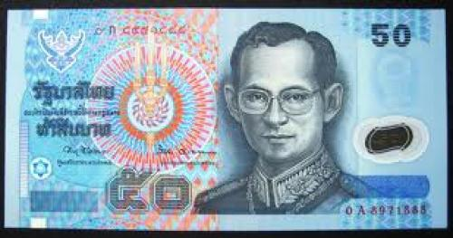 Banknotes; 50 Baht Thailand 2004 Banknote Currency