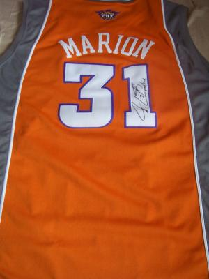 Shawn Marion autographed Phoenix Suns authentic jersey inscribed Matrix