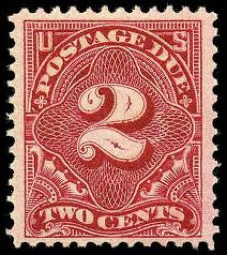 US Stamps; Scott #J46 - 1910