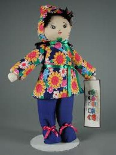 Dolls; Chinese Baby Girl Orphan Doll. doll. 2000