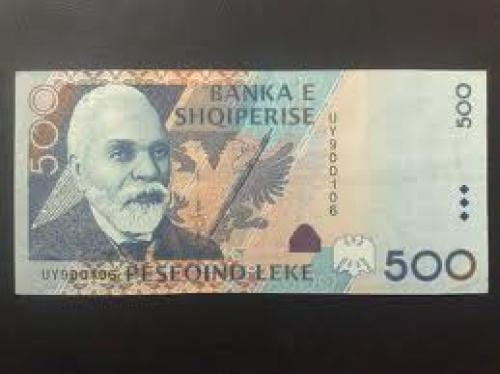 Banknotes; 200 Lek; Albanian banknotes