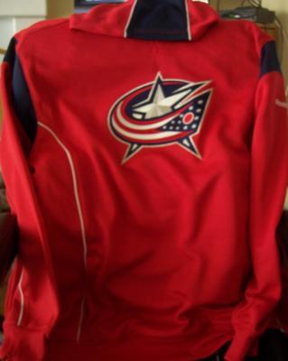 Columbus Blue Jackets Reebok hooded sweatshirt (hoodie) XL NEW WITH TAGS