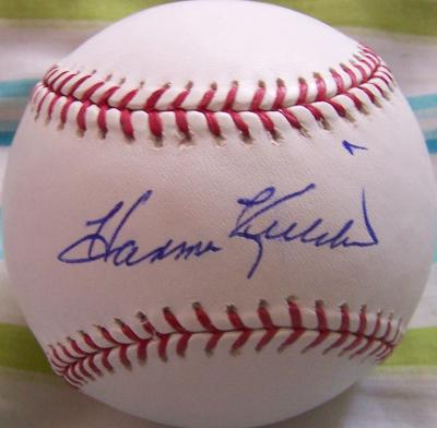 Harmon Killebrew autographed MLB baseball