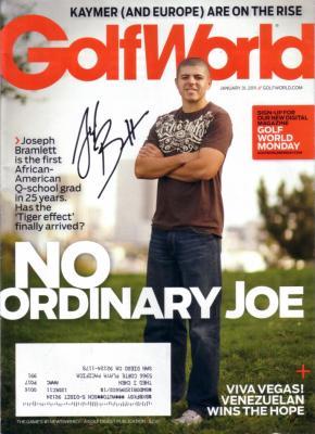 Joseph Bramlett autographed 2011 Golf World magazine