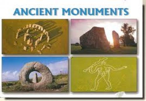 Postcards from England (UK); Ancient Monuments