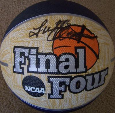 Lute Olson (Arizona) autographed NCAA Final Four basketball
