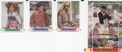 Stamps from Guatemala