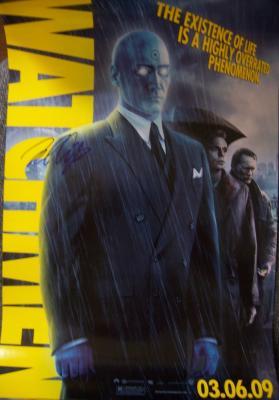 Billy Crudup autographed Watchmen Dr. Manhattan movie poster
