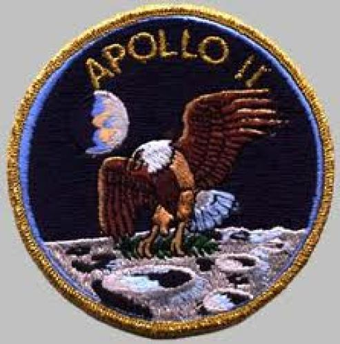 Patches: NASA; Apollo 11 patch