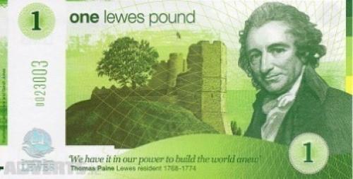 1 Pound British Banknote Uncirculated UNC (2008)