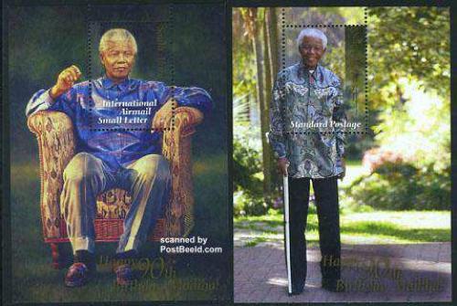 Nelson Mandela 2 s/s