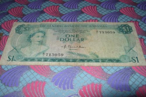 Bahamas-1 dolar 1974