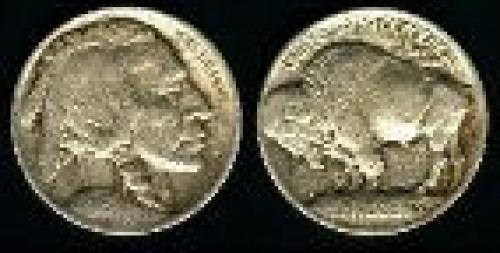 5 cents; Year: 1913; Buffalo variety 1