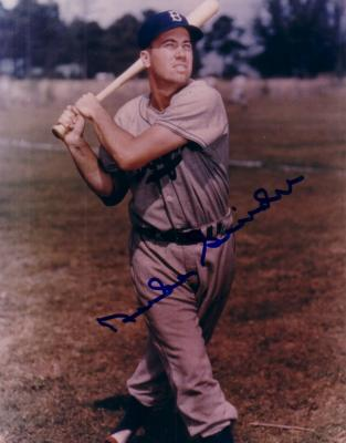 Duke Snider autographed Brooklyn Dodgers 8x10 photo