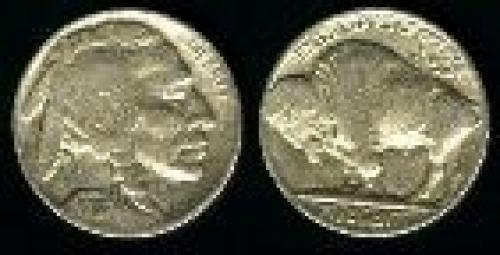 5 cents; Year: 1913-1938; Buffalo variety 2
