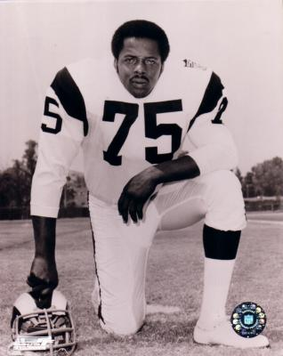 Deacon Jones 8x10 Rams black &amp; white photo