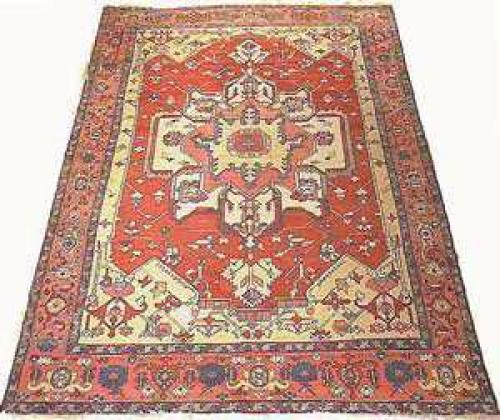 Antique Serapi rug ca. 1900 Tschebull