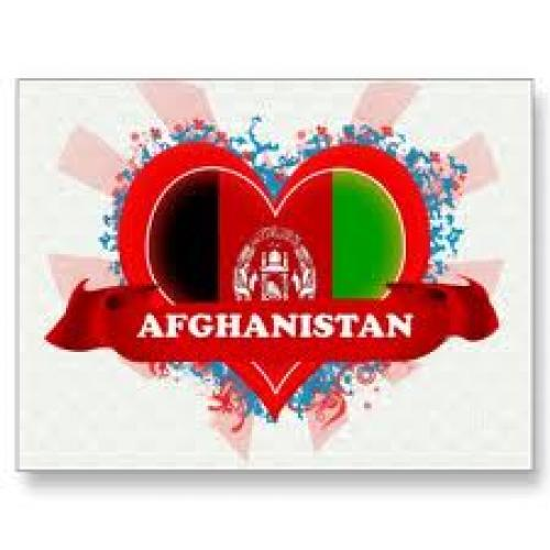 Postcard; Vintage I Love Afghanistan Post Cards