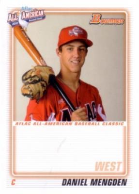 Daniel Mengden 2010 AFLAC Bowman Rookie Card