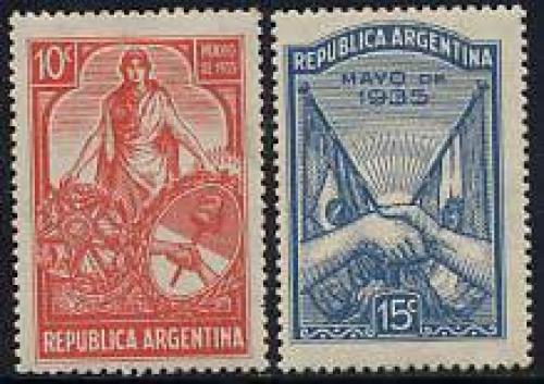 Brazilian visit 2v; Year: 1935