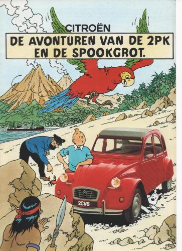 brochure CÏTROËN 2CV 1987