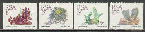 Succulentes coil stamps 4v; Year: 1988