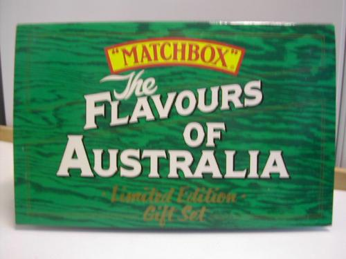 Matchbox 6-piece set A Ford Flavours of Australia
