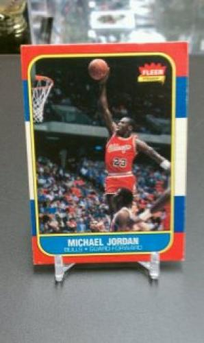 1986-87 Fleer Michael Jordan Rookie