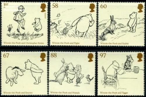 Winnie the Pooh 6v