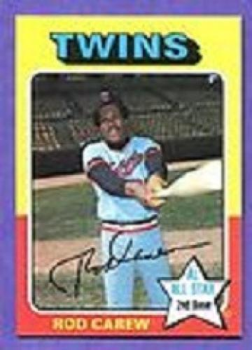 1975 Rod Carew Baseball Card